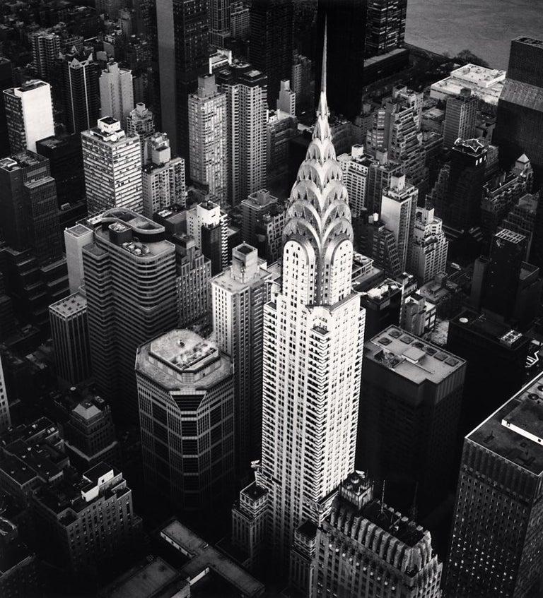 Michael Kenna Landscape Photograph - Chrysler Building, Study 4, New York, New York, USA