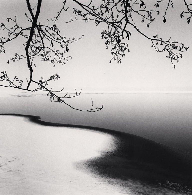 Michael Kenna Black and White Photograph - Hyomon, Study 1, Hokkaido, Japan