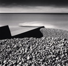Pebble Beach, Ault, Picardy, France, 2009 - Michael Kenna (Black and White)