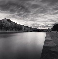Pont de la Tournelle, Paris, France, 1995 - Michael Kenna (Black and White)