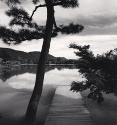 Temple Lake, Kyoto, Honshu, Japan