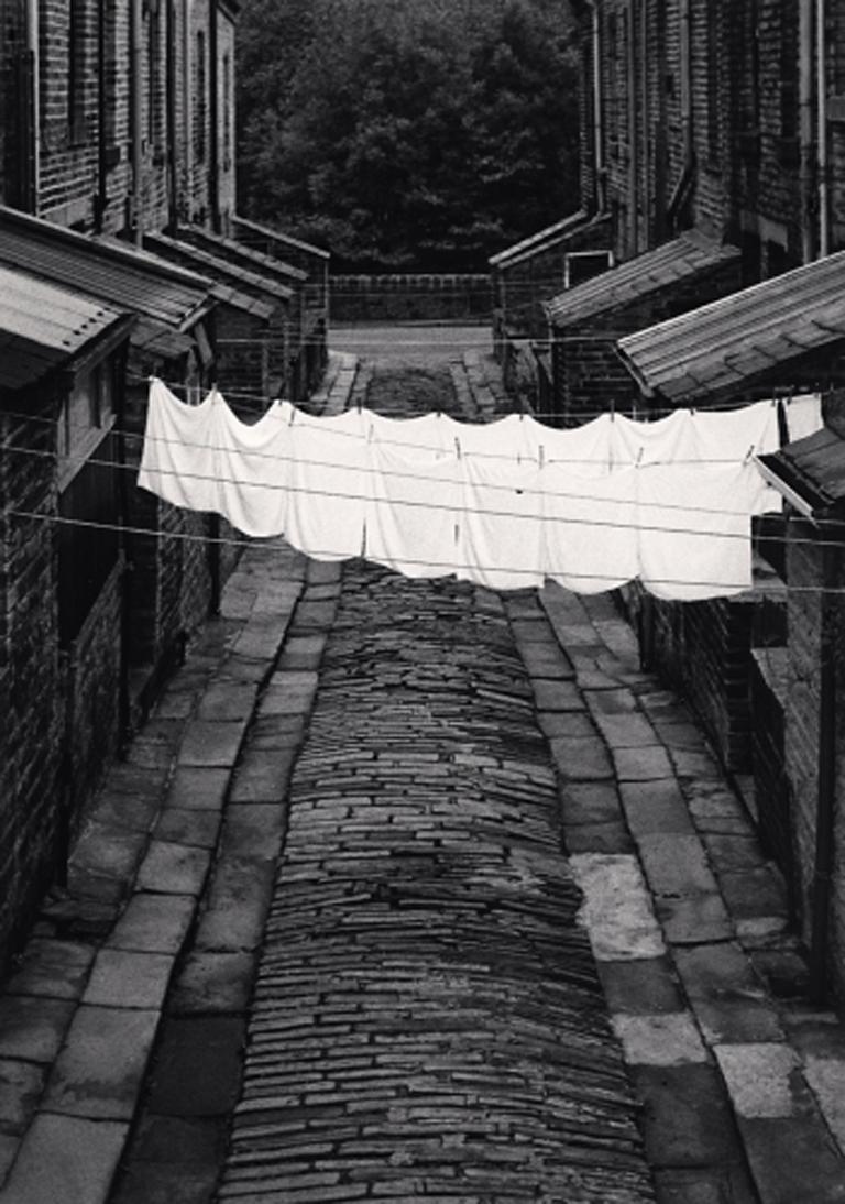 Washing Day, Colne, Lancashire, England