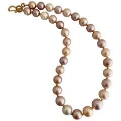 Michael Kneebone Pastel Colored Pearl Necklace
