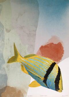 """""""Boldest Flyer,"""" Lithograph, 1980"""