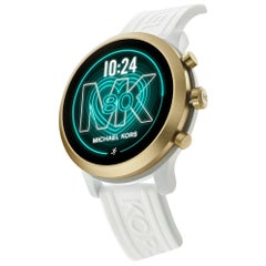 Michael Kors Access Gen 4 White Rubber Smartwatch MKT5071
