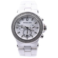 Michael Kors Bel Aire Chronograph Ceramic Ladies Watch