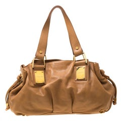 Michael Kors Brown Leather Satchel