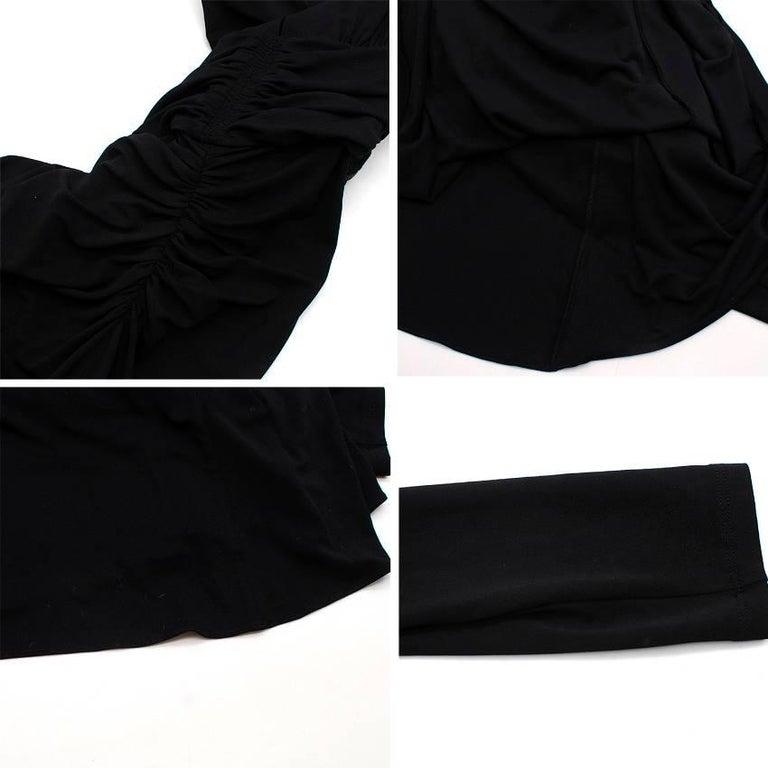 Michael Kors Collection black open-back dress US 0 For Sale 5