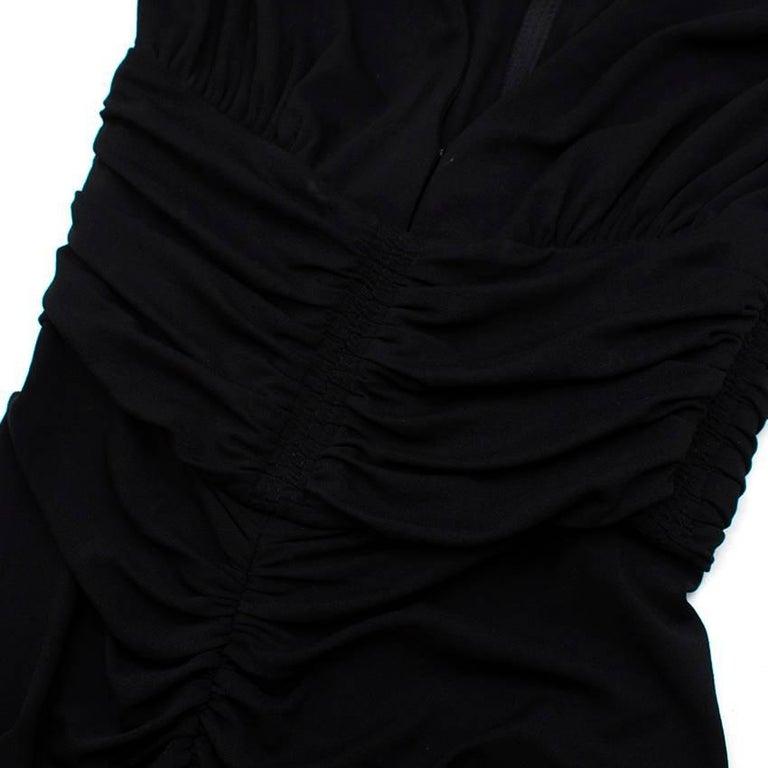 Michael Kors Collection black open-back dress US 0 For Sale 2