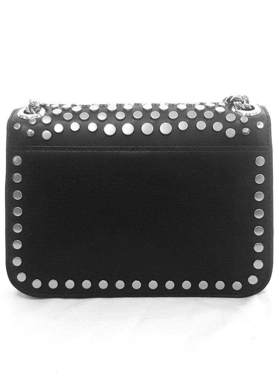 25039fc99e6c Michael Kors Jenkins Studded Black Leather Bag NEW W Tags For Sale 1
