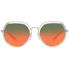 Michael Kors Mint Women Silver Sunglasses MK1034 3050A853 53-19-137 mm