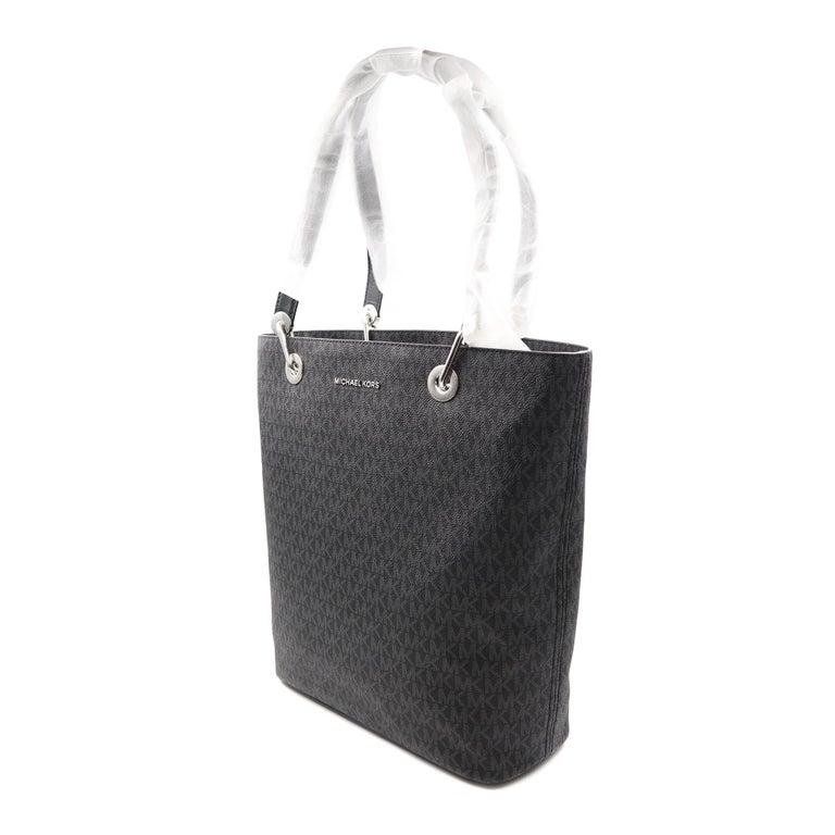 Michael Kors Raven Large North South Tote Black Womens Bag 30S7SRXT3V For Sale 3