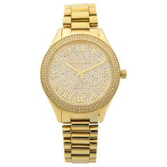 Michael Kors Stainless Steel Swarovski Crystals Quartz Ladies Watch MK3319