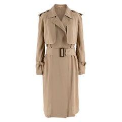 Michael Kors Tan Trench Duster Coat XXS