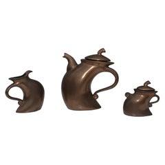 Michael Lambert Modernist Tea Set