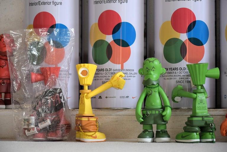 Michael Lau 2006 Rare 7 Years Gardener Designer Toy Set For Sale 2