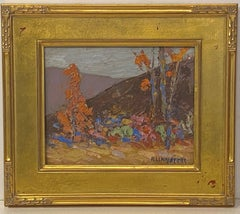 Impressionist Fall Landscape by Michael Lemmermeyer,  American 20th C.