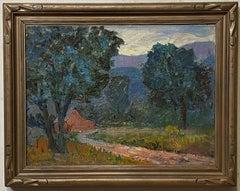 Impressionist Landscape by Michael Lemmermeyer, American 20th C.
