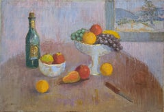 Table Top Still Life Oil Painting by Michael Lemmermeyer