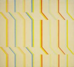 Yellow Aura, White Series #4
