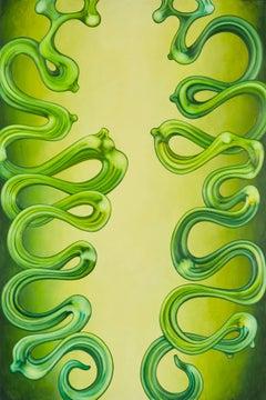Variation #4 in Green