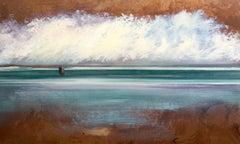 Sea Green by Michael Marrinan, Painting, Oil on Metal