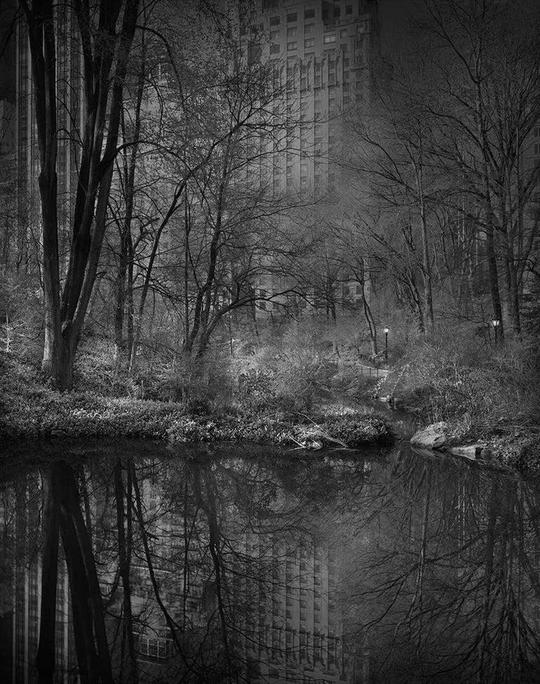 Michael Massaia Black and White Photograph - Hallet Sanctuary