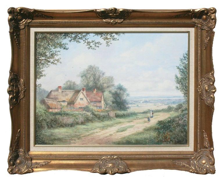 Michael Matthews Landscape Painting - Mid Century Cumberland, England Landscape