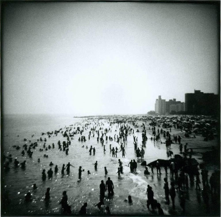 Micheal McLaughlin Black and White Photograph - Coney Island, NY 1995
