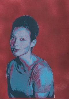 'La Sorcière' by Michael McNaught, Marina Vlady, Jean-Luc Godard, New Wave Film