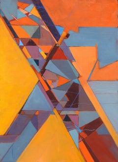 """Quod Erat Demonstrandum 7"", Michael Mentler, Oil on Canvas, Contemporary"