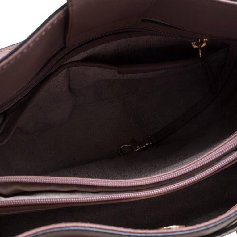 888abca46c33 Michael Michael Kors Pale Pink Leather East West Hamilton Top Handle Bag  For Sale 1