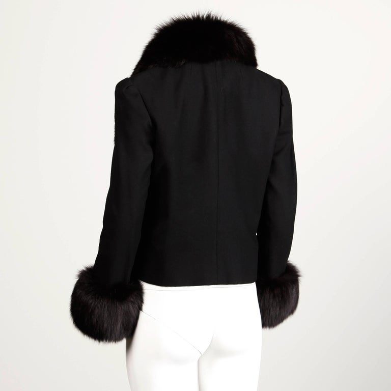 Women's Michael Novarese Vintage Fox Fur Jacket, 1970s  For Sale