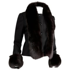 Michael Novarese Vintage Fox Fur Jacket, 1970s