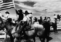 Boy and Men on Horses - Cowboys, America, 20th Century, Portrait photography