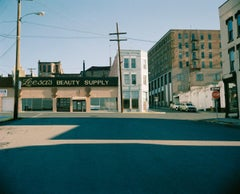 Deserted Streets with Shadows - Michael Ormerod, USA, Nostalgia, Travel