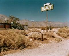 Sign by Empty Footpath - Michael Ormerod, Travel, Documentary, America, USA