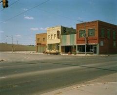 Gold Car, Butte, Montana, 1986 - Michael Ormerod, USA, Travel photography