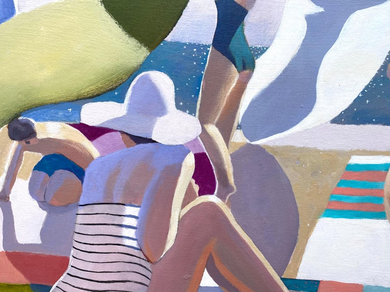 """""""Seaside"""" - Painting by Michael Patterson"""