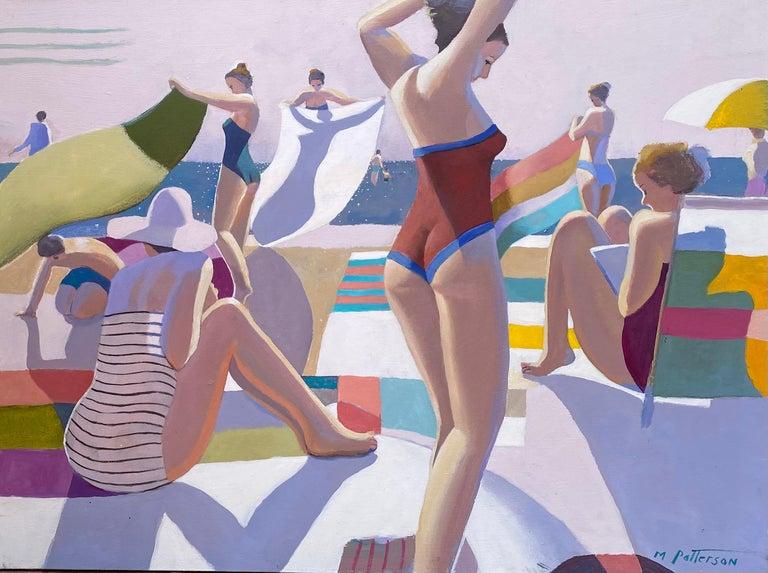 "Michael Patterson Figurative Painting - ""Seaside"""