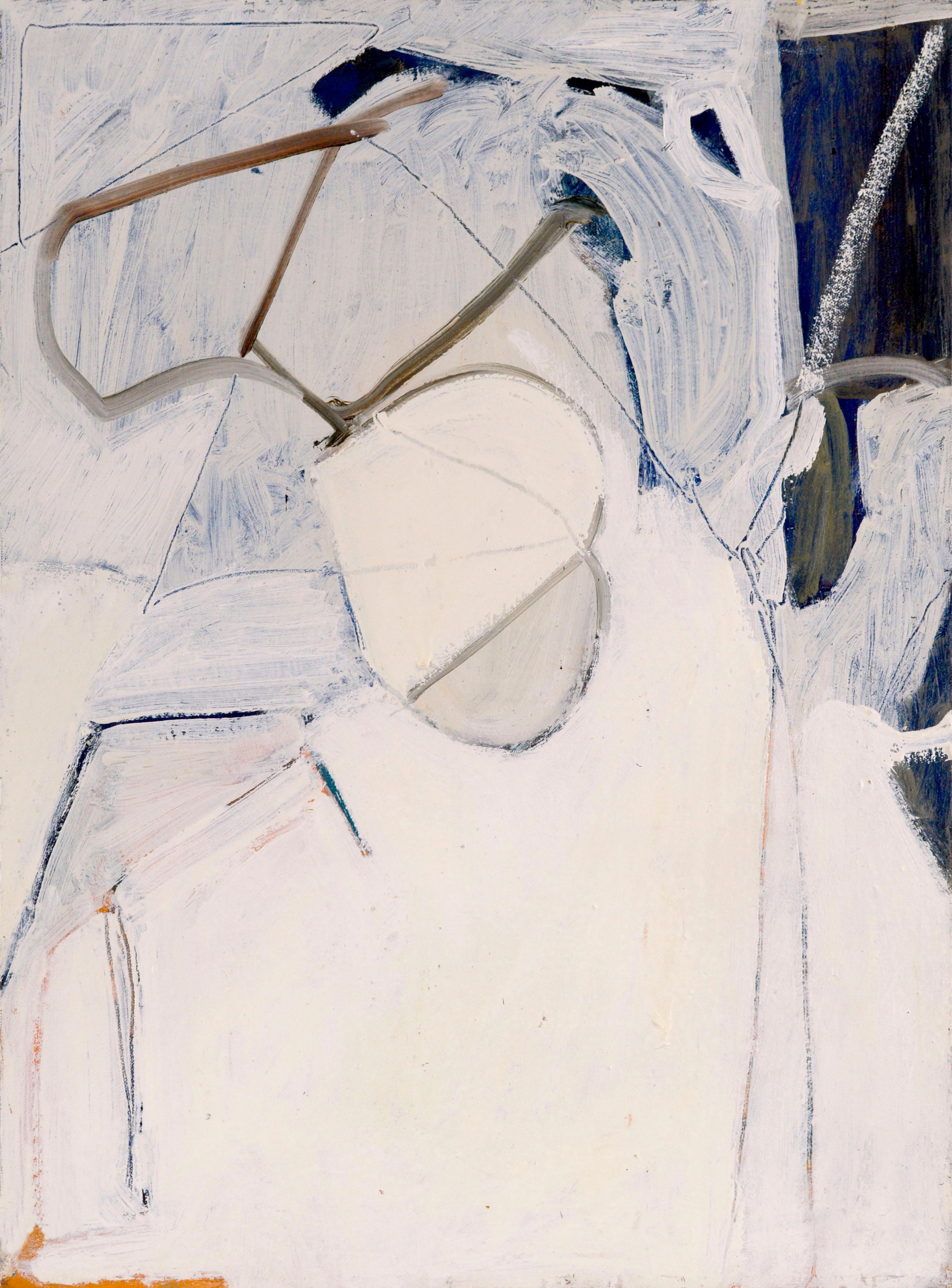 "White Abstract ""Baldwin Series""  1977"
