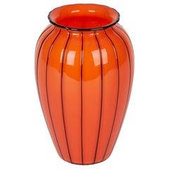 Michael Powolny for Loetz Tango Piped Art Glass Vase, circa 1914
