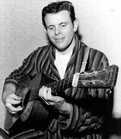 Del Shannon Playing Guitar Vintage Original Photograph