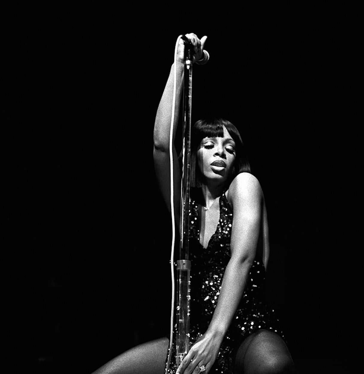 245d6e2c906d Michael Putland - Donna Summer - 20th century black and white music  photography