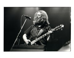 Jerry Garcia Performing With The Grateful Dead Vintage Original Photograph