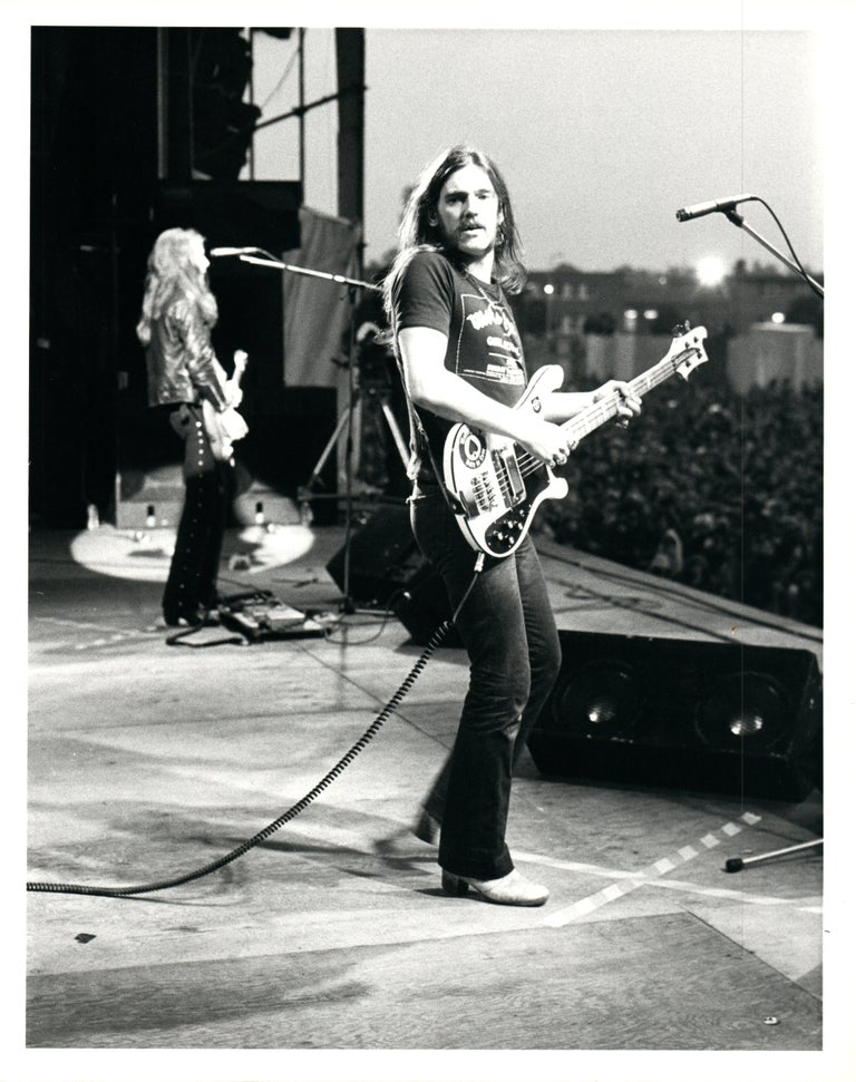777d637a5905 Michael Putland - Lemmy on Stage with Motörhead Vintage Original ...