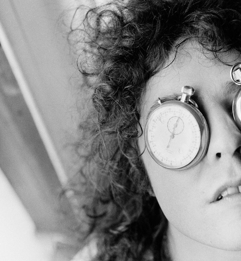 Marc Bolan Timeless - 20th century black and white music photography  - Black Black and White Photograph by Michael Putland