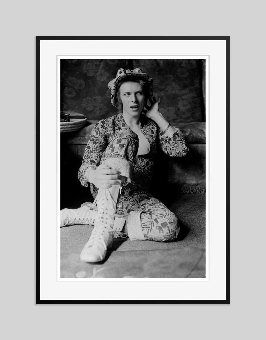 Michael Putland, David Bowie At Home, 1972. Signed Limited Edition.