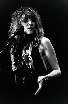 Stevie Nicks Candid on Stage Vintage Original Photograph