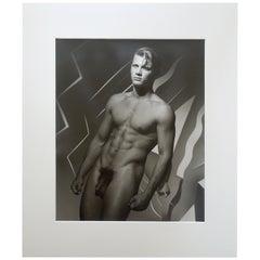 "Michael Roberts Original Photograph ""Portrait of ""Michel"" Hamilton's, London"